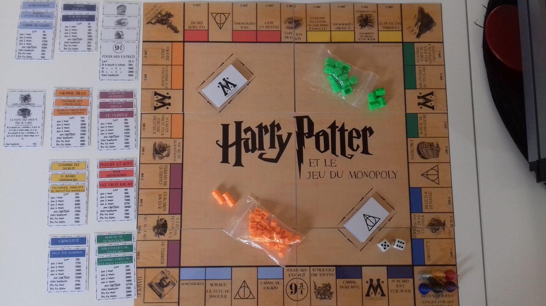 Harry Potter Et Le Jeu Du Monopoly Maitresse Ninie