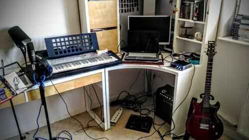 Mon tout nouveau studio d'enregistrement !