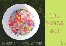 Joyeux anniversaire Angèle !