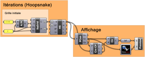 Image DOTS : Enregistrement de données et algorithmes récursifs