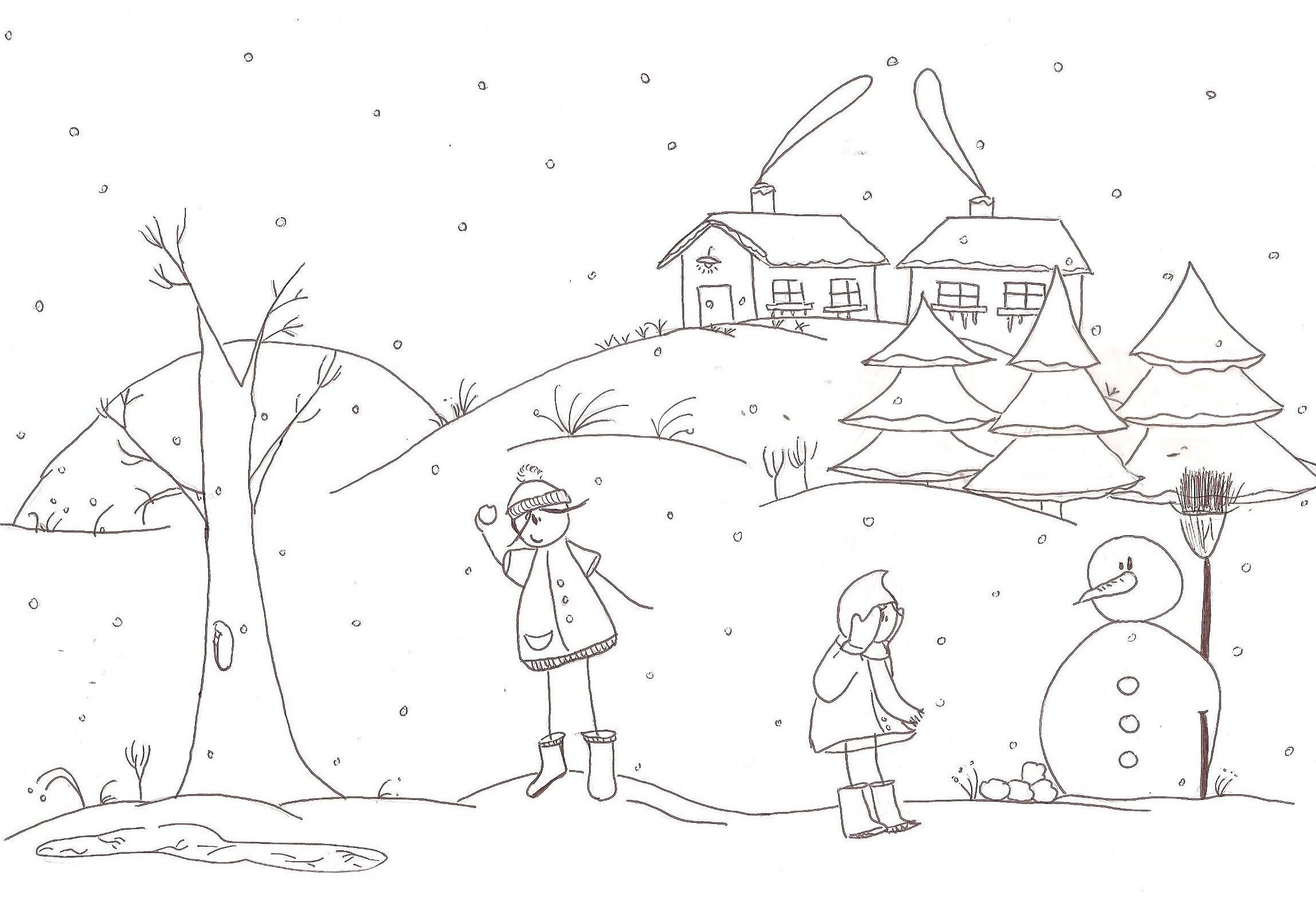 projet autour de l hiver a