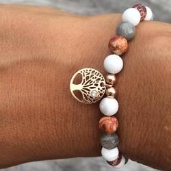 Bracelet personnalisé en pierre