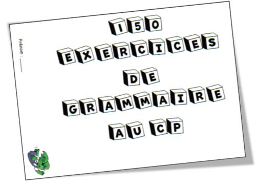 150 exercices de grammaire au CP