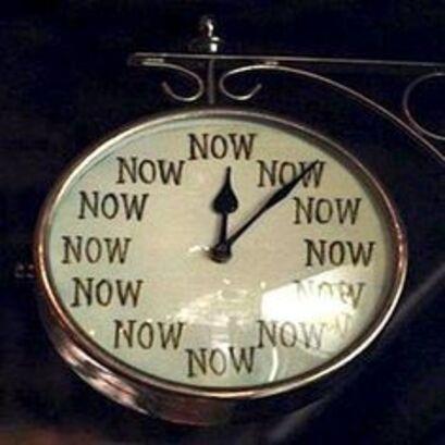 le Temps, c'est maintenant