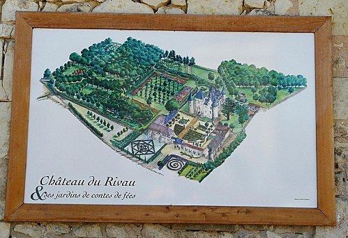 1 - Chateau du Rivau -Plan - 21-07-08