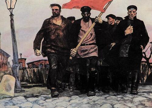 - La révolution prolétarienne est toujours le phare qui éclaire le monde !
