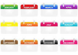 How to pronounce the months of the year