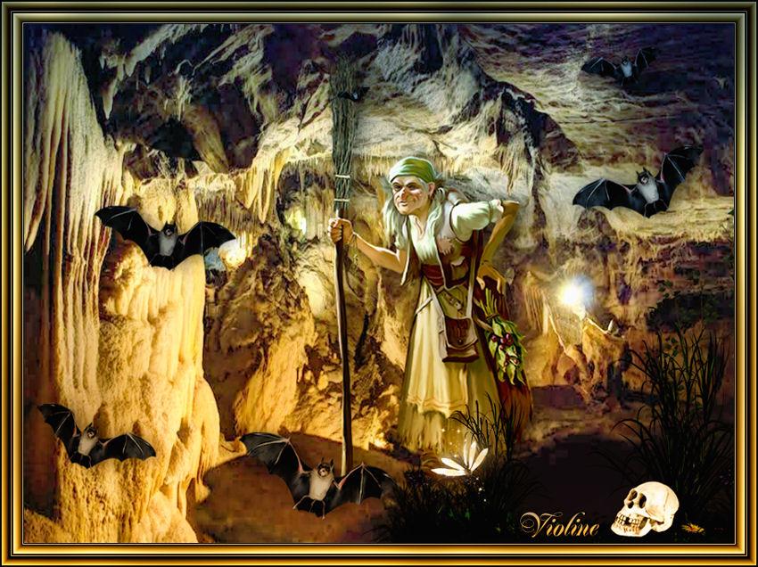 MES CREATIONS à mettre sur Monde Graphisme Creachou210319_Fairy_Challenge_Grottes