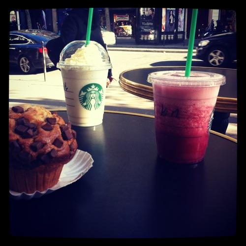 Journée de malade avec Moon (Starbucks, Shopping Forever21, Mac, balade...)