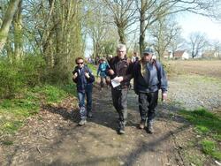La randonnée du 26 mars à Argences