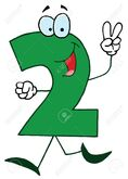 Funny Cartoon Numbers-2 Royalty Free Cliparts, Vectors, And Stock  Illustration. Image 16511686.