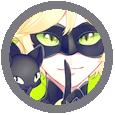 Avatars ronds dessins animés/animes/mangas pour sites en libre service