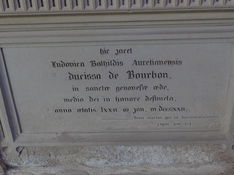 Tombeau de Bathilde d'Orléans (1750 - 1822) 2.jpg