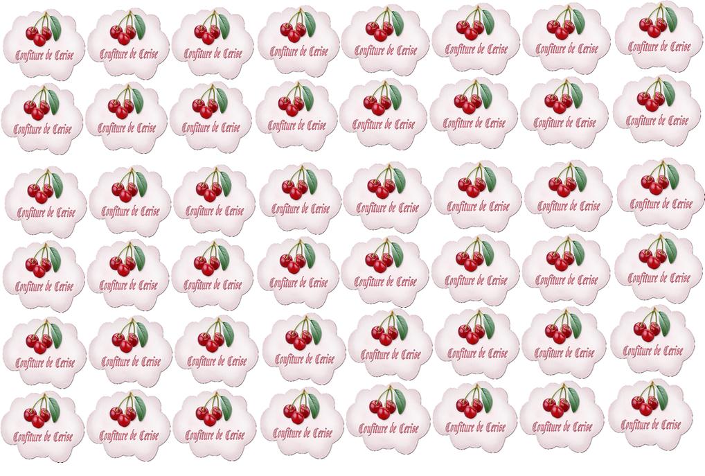 Flambant neuf 48 etiquettes a imprimer pour confiture - bienvenue chez cerise BI53