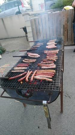 Le barbecue Party du 5 juillet