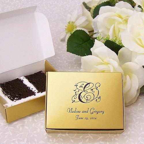 How To Make Wedding Cake Favor Bo