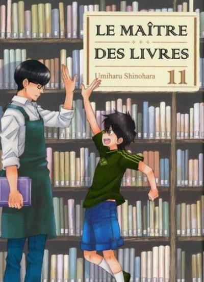 Le Maître des livres - tome 11 (2017)