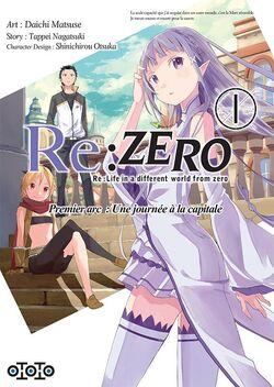 [Manga] Re:Zero Arc 1 Tome 1 : Une journée à la capitale