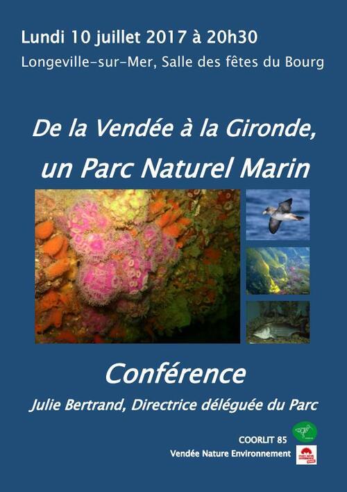De la Vendée à la Gironde, un parc naturel marin