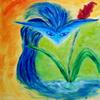 Bleu Ebouriffé