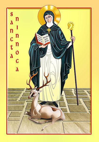 Sainte Ninnoc († 467)