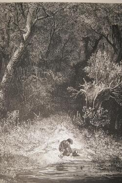 Le petit poucet par Gustave Doré