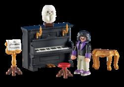 Valentin et son talent: le piano