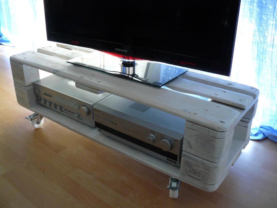 Fabriquer Un Meuble Tv Avec Des Palettes Maison Et Mobilier D