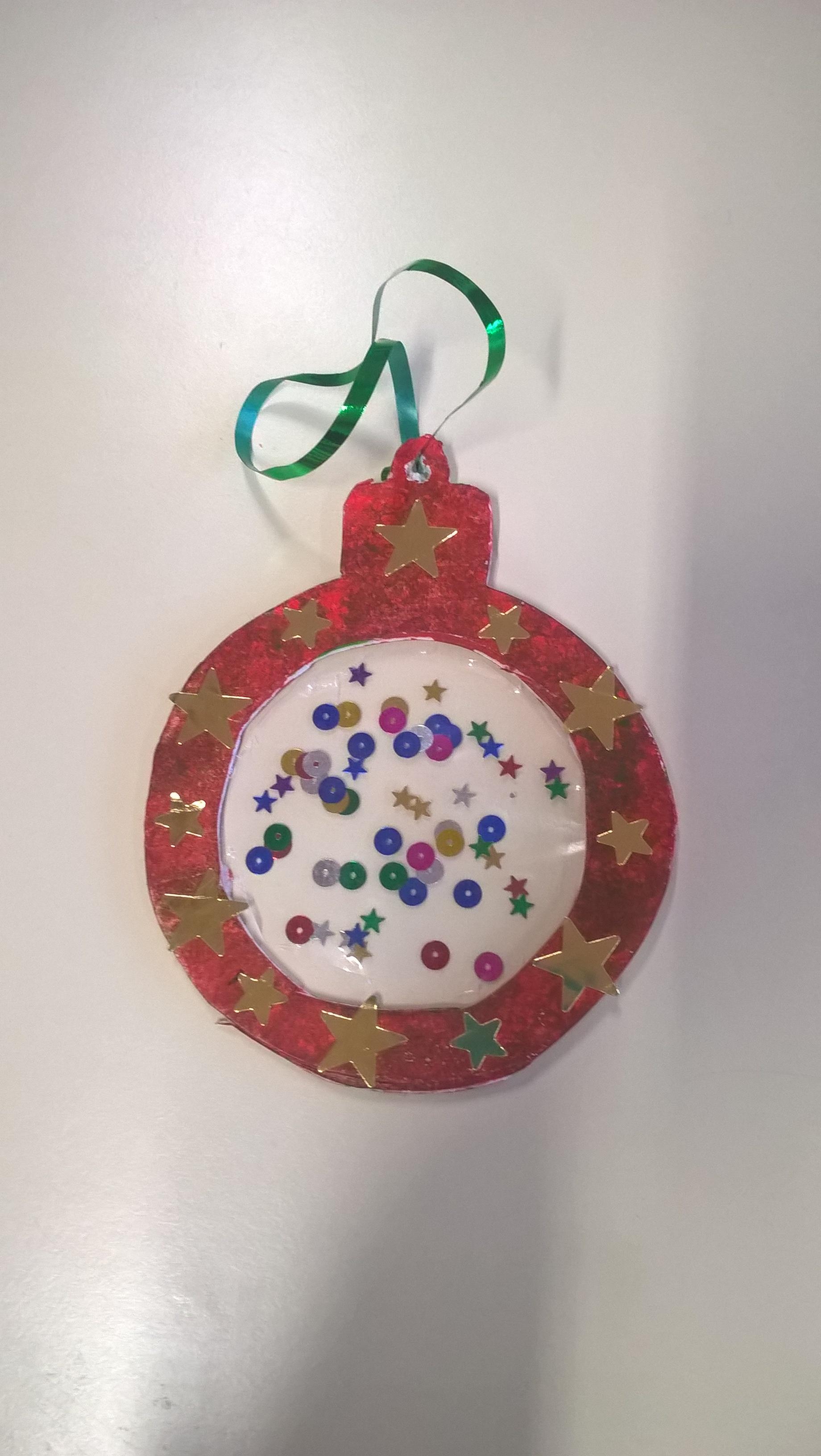 Boule De Noel Transparente A Decorer rallye-liens n°7 : une idée bricolage pour noël - chabadou
