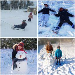 les bonhommes de neige des MS GS