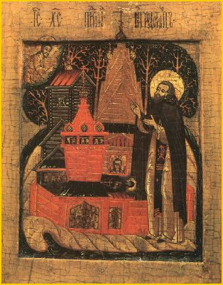 Saint Nil de Stolbensk, ermite († 1554)