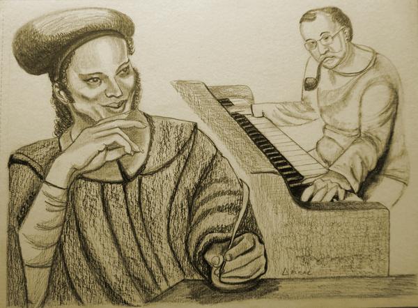 François Villon en grec, mis en musique par Mikroutsikos * Φρανσουά Βιγιόν