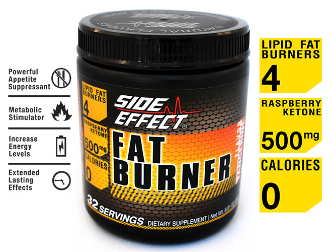 Fat burning supplement side effects