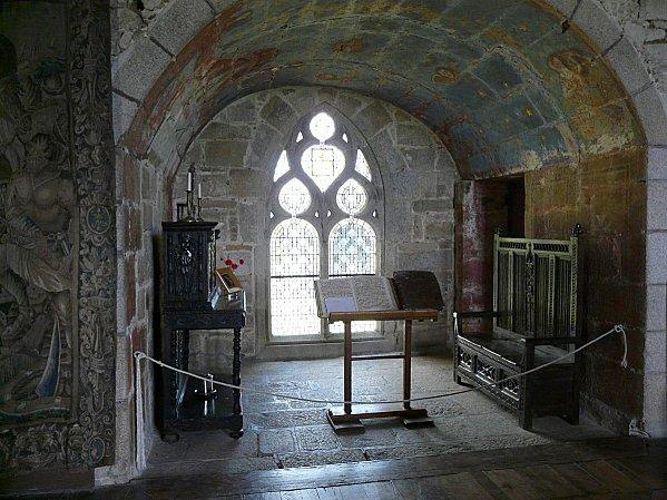 châtau de Kérouzéré - oratoire