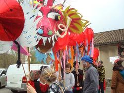 Carnaval de Saillans - place de la République