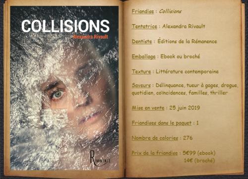 Collisions - Alexandra Rivault