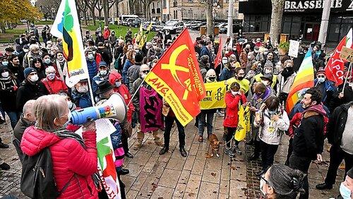 Le peuple de la liberté a marché partout en France contre la loi Sécurité Globale le 28/11/2020