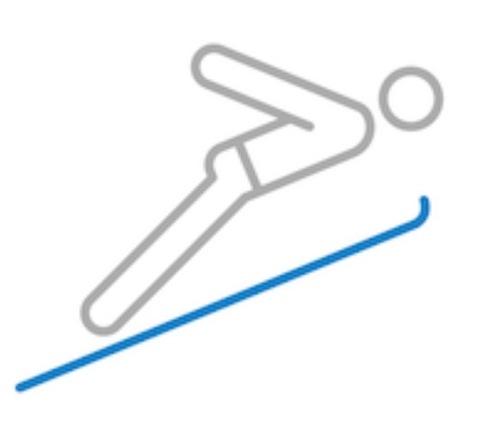 Le saut à ski : équipes 5 et 6