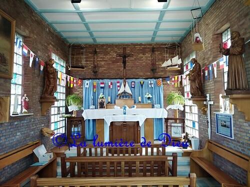 Gravelines, la chapelle Notre-Dame des flots