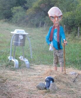 Paul l'Extraterrestre de Bugarach