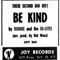 Ronnie & The Hi-Lites (7) - doo-wop