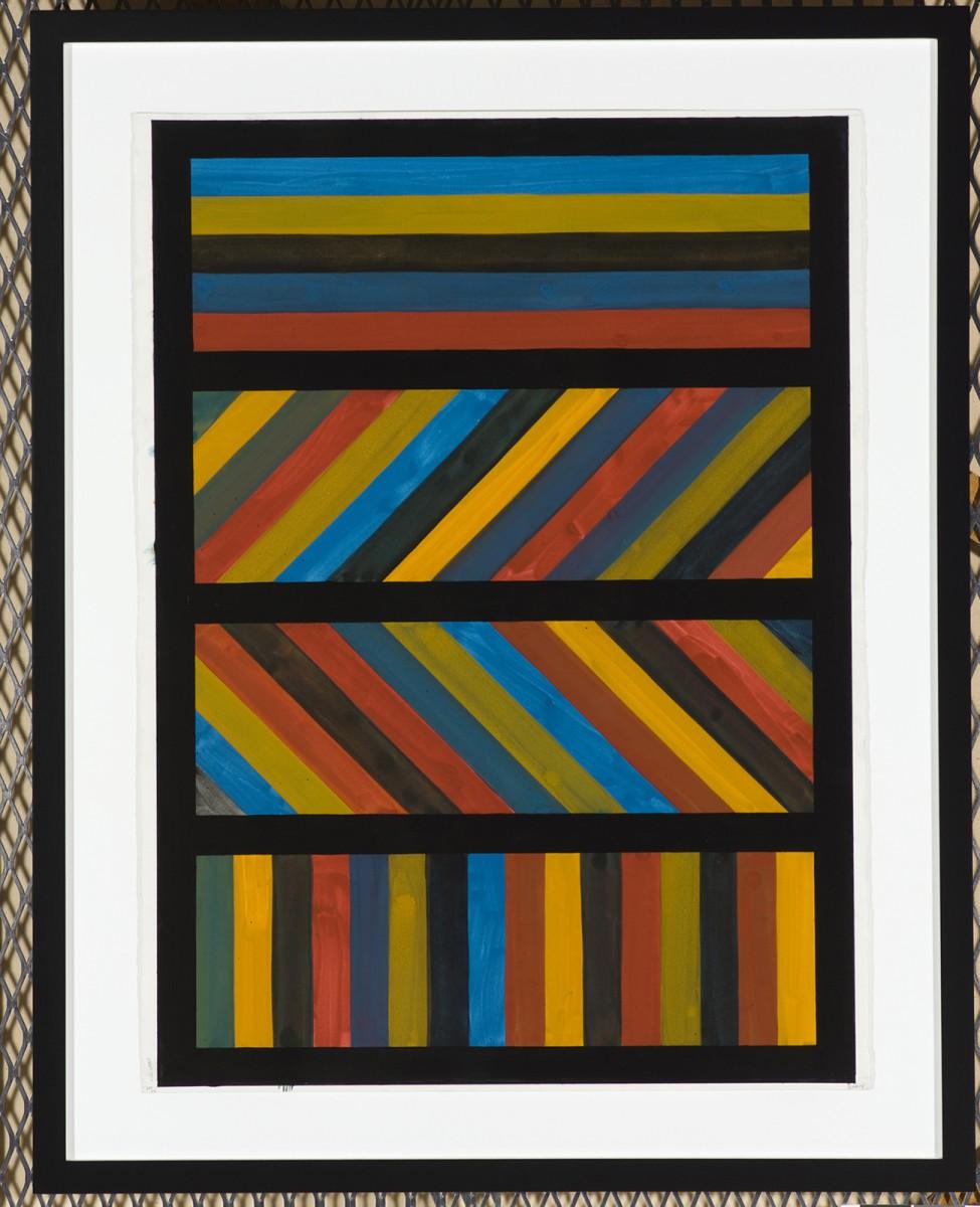 Bien connu Le trait (horizontal, vertical, diagonal) selon Sol LeWitt - La  KW86