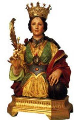 Sainte Restitute d'Abitène, martyre en Afrique proconsulaire (4ème s.)