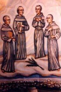 Saints Nicolas Tavelic et ses compagnons, prêtres franciscains et martyrs († 1391)