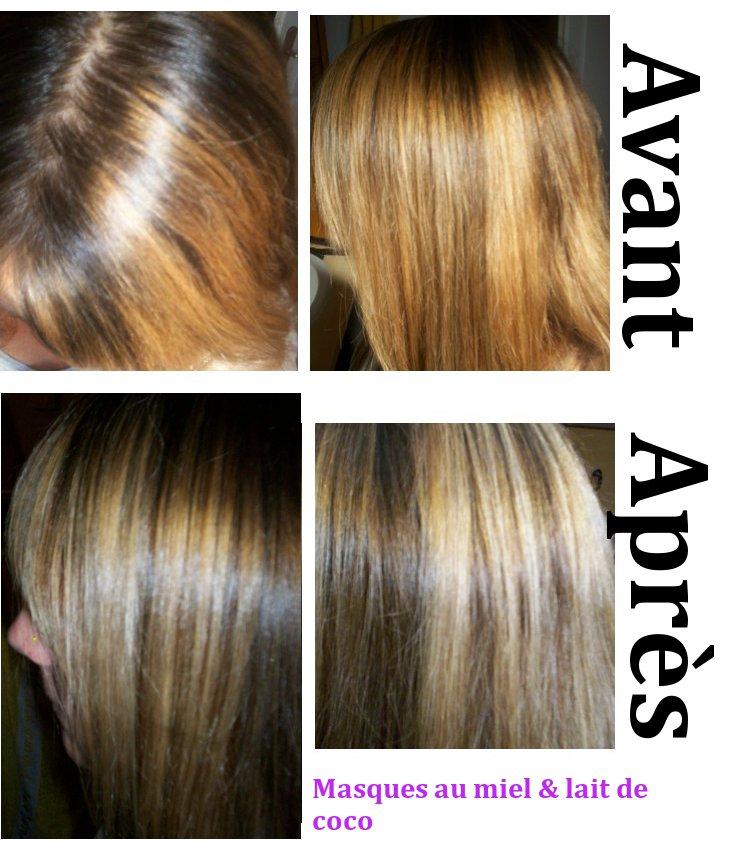 Coloration cheveux avec du cafe