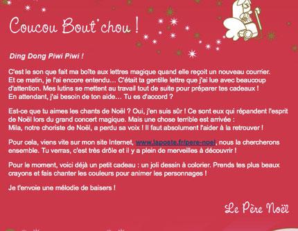 Lettre De Reponse Au Pere Noel.Reponse Lettre Pere Noel Ecio2010