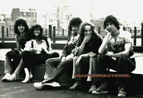 SHAKIN' STREET (1975-1981) - FRANCE HEAVY ROCK