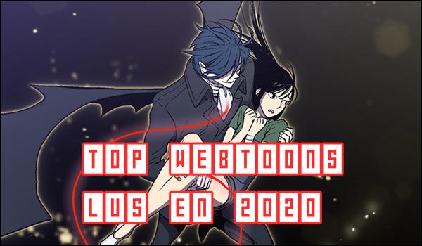 Top Webtoons lus en 2020
