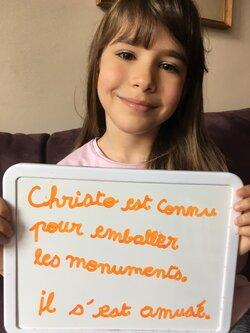 Hommage à Christo !