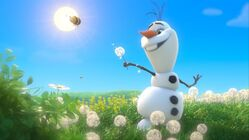 Watch 'Frozen's' Olaf Sing 'In Summer' In Six Different Languages  (Exclusive) - MTV